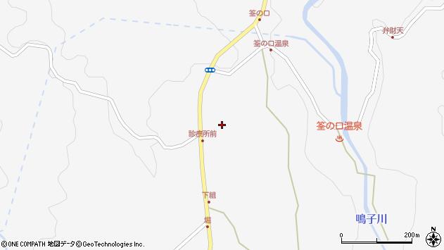 大分県玖珠郡九重町田野1538周辺の地図