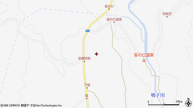 大分県玖珠郡九重町田野1540周辺の地図