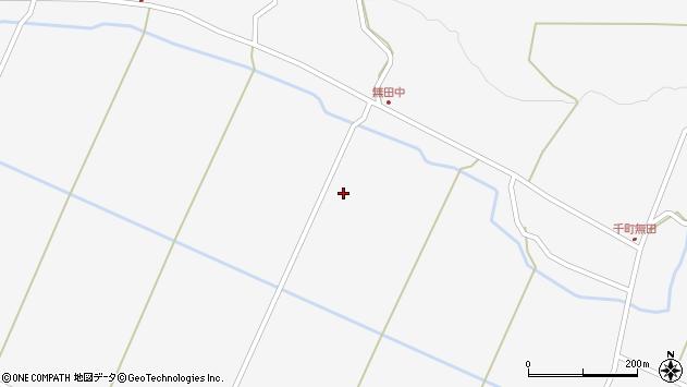 大分県玖珠郡九重町田野千町無田周辺の地図
