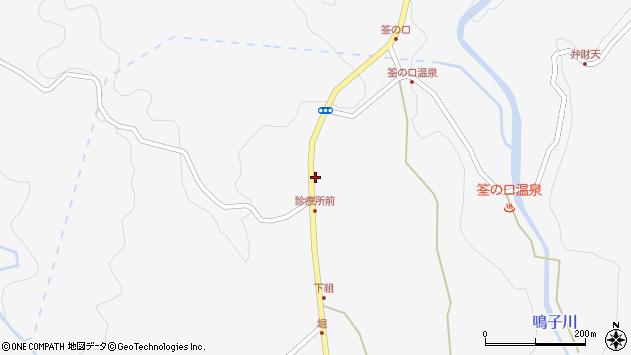 大分県玖珠郡九重町田野1353周辺の地図