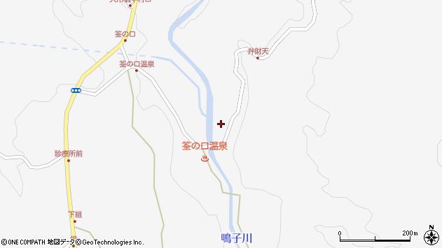 大分県玖珠郡九重町田野1776周辺の地図