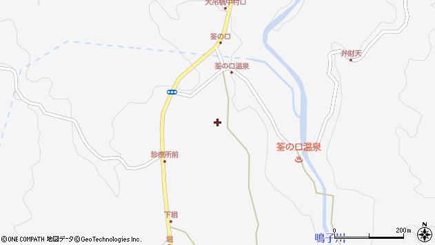 大分県玖珠郡九重町田野1581周辺の地図