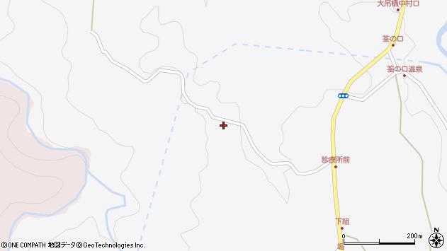 大分県玖珠郡九重町田野758周辺の地図