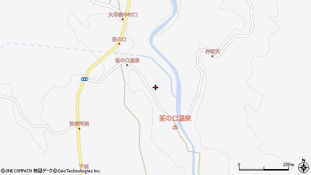 大分県玖珠郡九重町田野1413周辺の地図