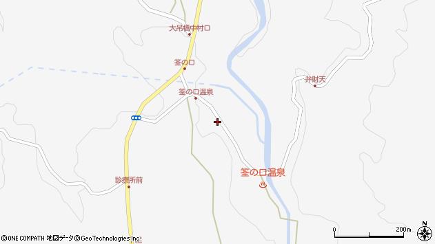 大分県玖珠郡九重町田野1424周辺の地図