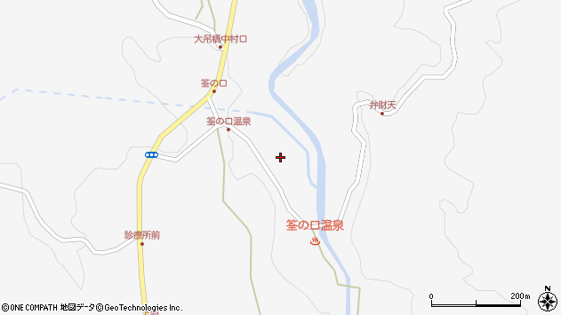 大分県玖珠郡九重町田野1414周辺の地図