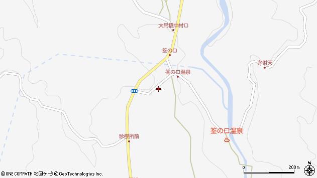 大分県玖珠郡九重町田野1368周辺の地図