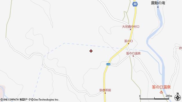 大分県玖珠郡九重町田野1271周辺の地図