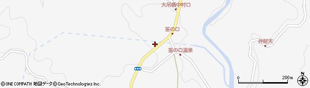 大分県玖珠郡九重町田野1248周辺の地図