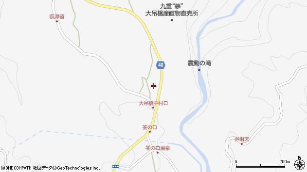 大分県玖珠郡九重町田野1226周辺の地図