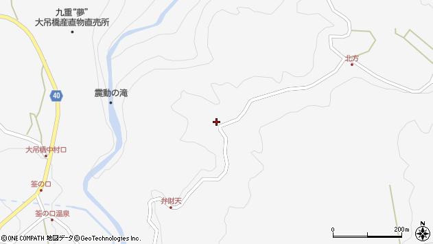 大分県玖珠郡九重町田野1826周辺の地図