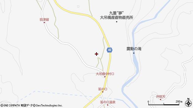 大分県玖珠郡九重町田野1160周辺の地図