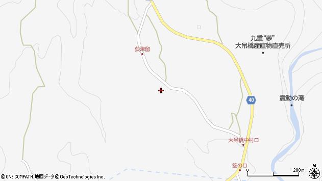 大分県玖珠郡九重町田野1145周辺の地図