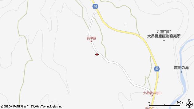 大分県玖珠郡九重町田野1199周辺の地図