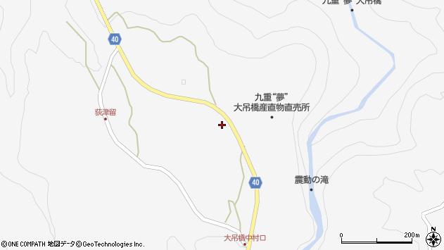 大分県玖珠郡九重町田野1150周辺の地図