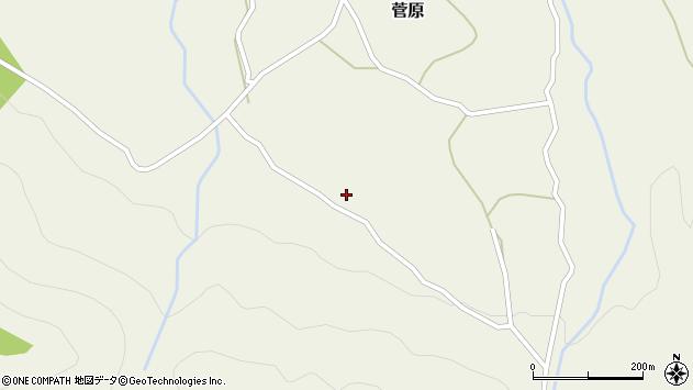 大分県玖珠郡九重町町田3221周辺の地図