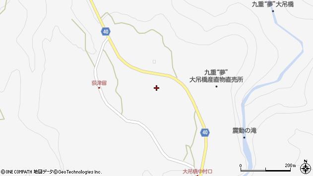 大分県玖珠郡九重町田野1021周辺の地図
