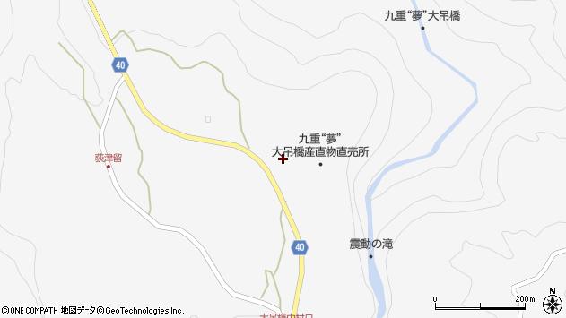 大分県玖珠郡九重町田野1203周辺の地図