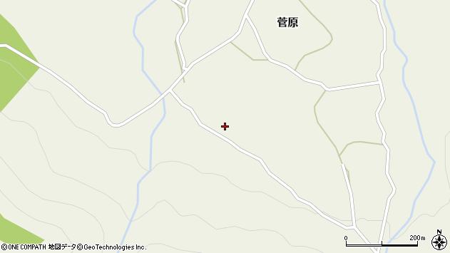 大分県玖珠郡九重町菅原3221周辺の地図