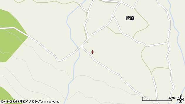 大分県玖珠郡九重町菅原471周辺の地図