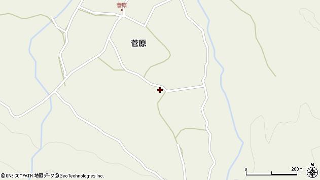 大分県玖珠郡九重町町田3206周辺の地図