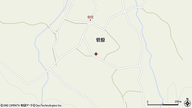 大分県玖珠郡九重町町田3周辺の地図