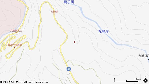 大分県玖珠郡九重町田野996周辺の地図
