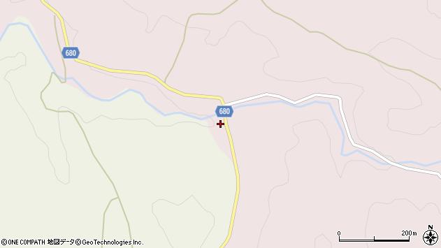 大分県玖珠郡九重町町田3072周辺の地図