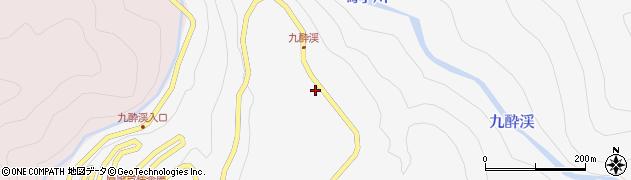 大分県玖珠郡九重町田野975周辺の地図