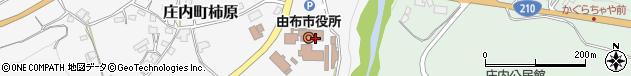 大分県由布市周辺の地図