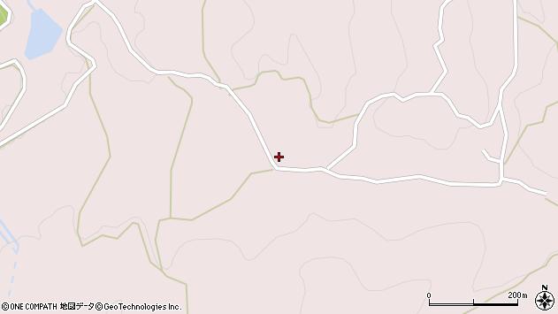 大分県玖珠郡九重町町田3600周辺の地図