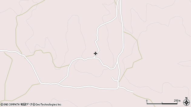 大分県玖珠郡九重町町田3653周辺の地図