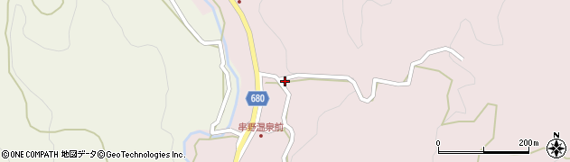 大分県玖珠郡九重町町田2724周辺の地図