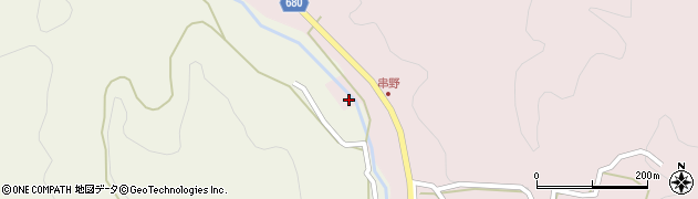 大分県玖珠郡九重町町田1192周辺の地図