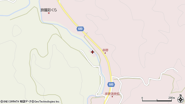 大分県玖珠郡九重町町田2664周辺の地図