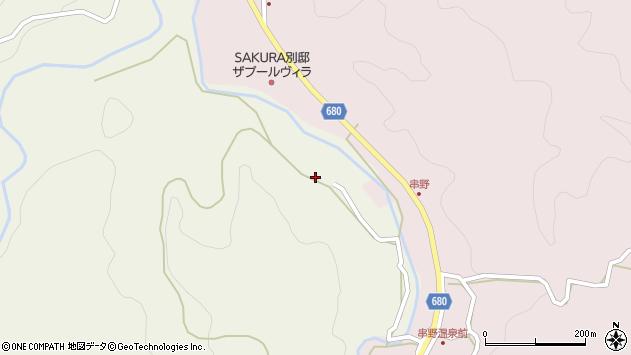 大分県玖珠郡九重町菅原1200周辺の地図