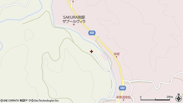 大分県玖珠郡九重町菅原1201周辺の地図