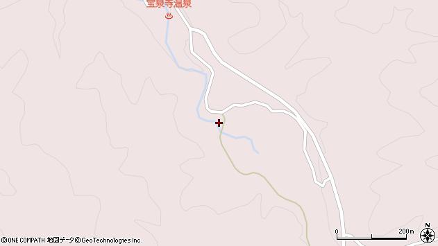 大分県玖珠郡九重町町田2349周辺の地図