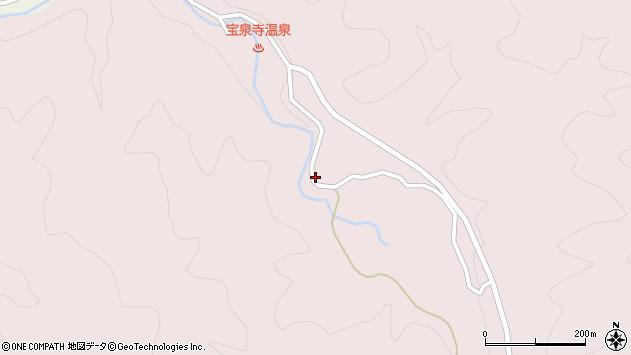 大分県玖珠郡九重町町田2057周辺の地図