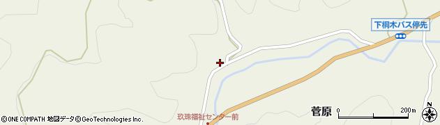 大分県玖珠郡九重町菅原1552周辺の地図