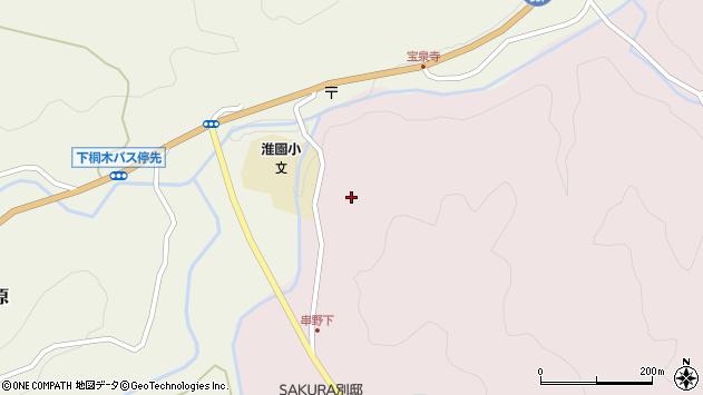 大分県玖珠郡九重町町田2500周辺の地図