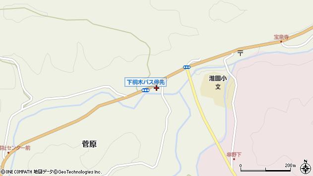 大分県玖珠郡九重町菅原1797周辺の地図