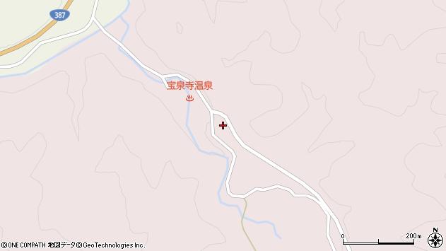 大分県玖珠郡九重町町田2104周辺の地図