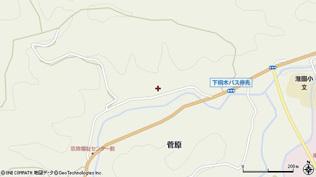 大分県玖珠郡九重町菅原1682周辺の地図