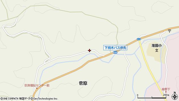 大分県玖珠郡九重町菅原1729周辺の地図