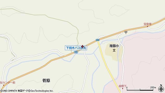 大分県玖珠郡九重町菅原1764周辺の地図