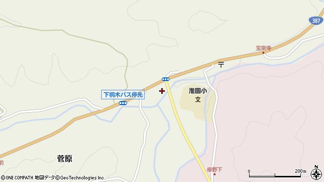 大分県玖珠郡九重町菅原1805周辺の地図