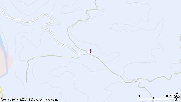 大分県玖珠郡九重町後野上2183周辺の地図