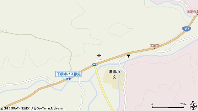 大分県玖珠郡九重町菅原1826周辺の地図