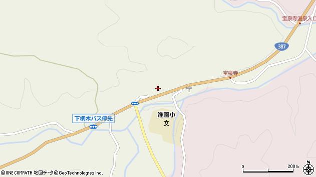 大分県玖珠郡九重町菅原1834周辺の地図